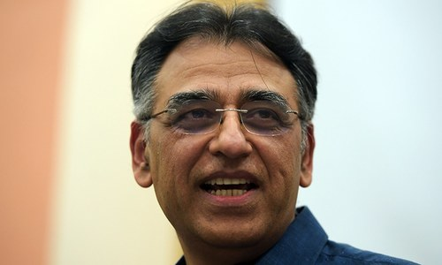 Asad Umar still listed as finance minister in Cabinet Division's new notification