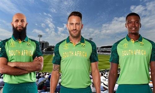 ورلڈ کپ کیلئے جنوبی افریقی ٹیم کی جرسی متعارف
