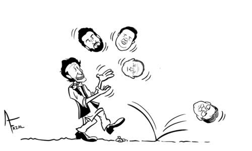Cartoon: 20 April, 2019