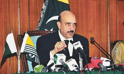 AJK president praises armed forces for defending country