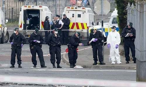 شمالی آئرلینڈ میں صحافی کا قتل، 2 نوجوان گرفتار