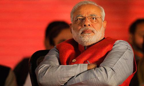 بھارت: الیکشن کمیشن نے مودی پر بنی ویب سیریز روک دی
