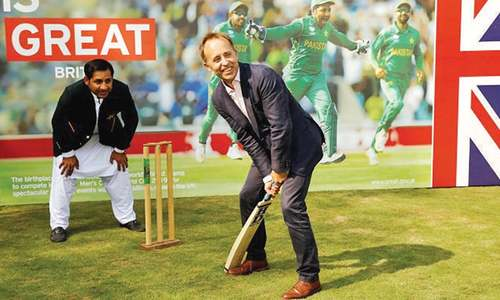 British envoy hosts cricket team