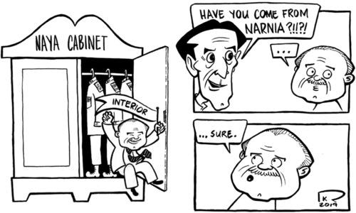 Cartoon: 21 April, 2019