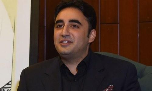 Bilawal surprised at 'abruptness' of cabinet reshuffle