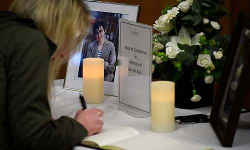 Two teens held after killing of N. Irish journalist
