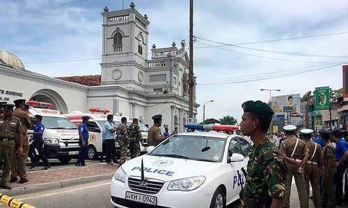 سری لنکا میں 6 بم دھماکے، 42 افراد ہلاک