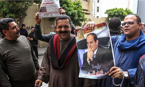 مصر: السیسی کو 2030 تک اقتدار میں رکھنے کیلئے ریفرنڈم