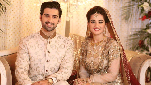 Aiman Khan dishes all about her wedding to Muneeb Butt