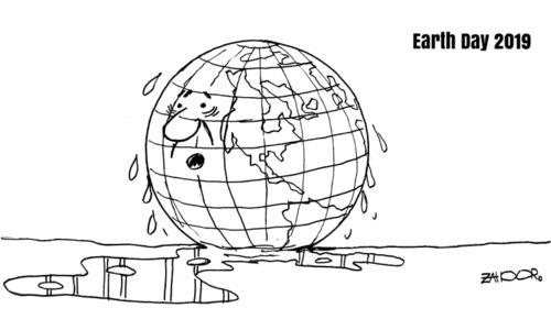 Cartoon: 22 April, 2019