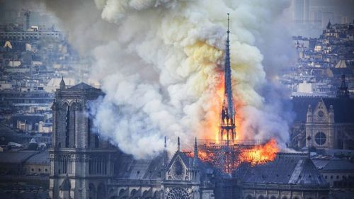The Notre Dame fire's most poignant lesson for Pakistan is that it's getting harder to be hypocritical
