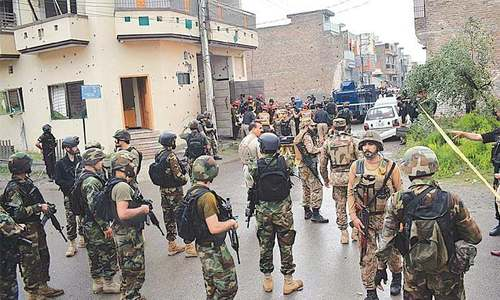 Alleged terrorists killed in Hayatabad operation involved in multiple attacks: police