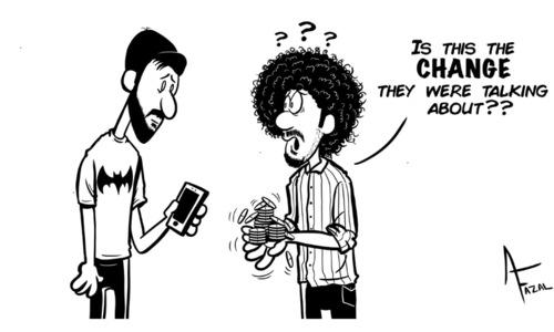 Cartoon: 23 April, 2019