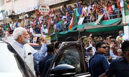 Modi casts vote in Ahmedabad as 3rd phase of Indian elections underway