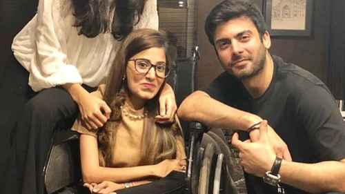 This superfan just got a birthday surprise from Fawad Khan