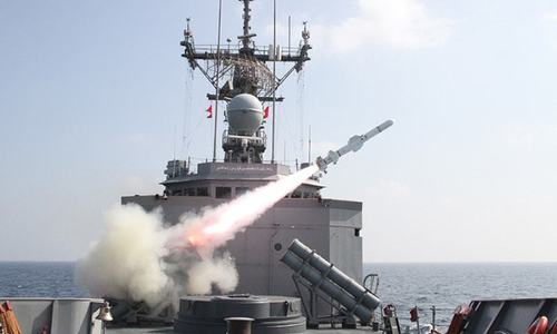 Pakistan Navy successfully test-fires missile in Arabian Sea