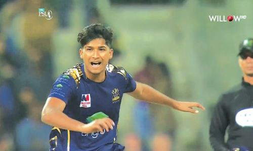 I have a surprise up my sleeve for the opponents: Hasnain