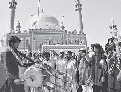 Lal Shahbaz Qalandar's Urs