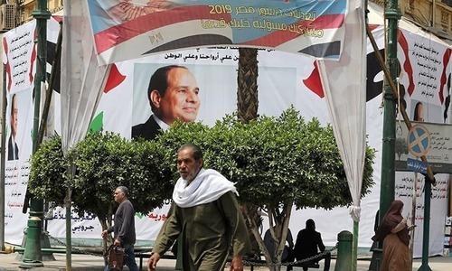 مصر میں ریفرنڈم: السیسی 2030 تک صدارت کی کرسی پر براجمان