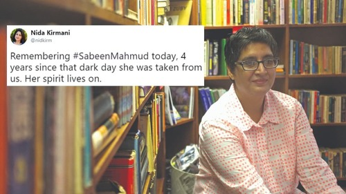 Sabeen Mahmud remembered by friends and admirers on fourth death anniversary
