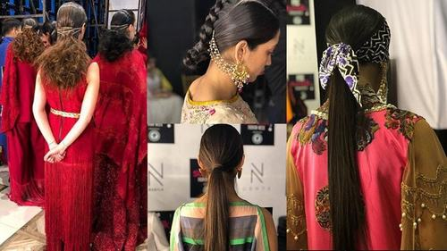Top 5 hairstyles from the PSFW '19 ramp that require nothing but silky, shiny hair
