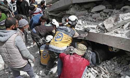 شام میں دھماکے سے شہریوں سمیت 15 افراد جاں بحق