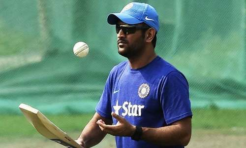 Dhoni to rest before World Cup if niggle worsens