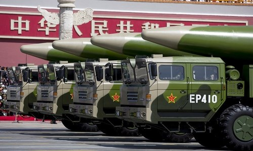 China leads US on potent hyper sonic missiles
