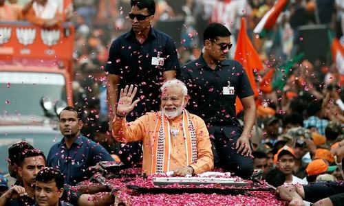 India's Modi faces fight in Maharashtra state that could decide majority