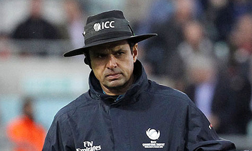 Aleem Dar among 16 umpires officiating upcoming World Cup