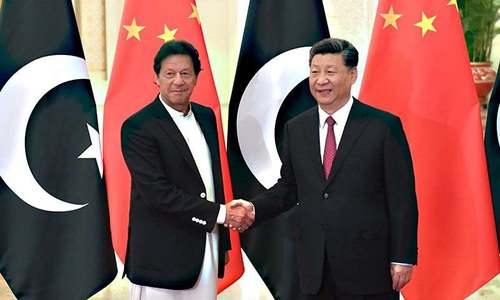 PM Khan meets Chinese President Xi in Beijing