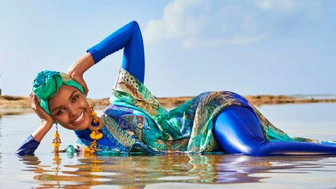 In first, Sports Illustrated will feature burkini-clad Muslim model