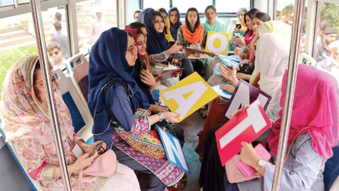 KP launches Pink Bus Service to provide safe, hassle-free transport to women