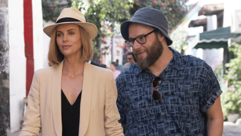 Charlize Theron, Seth Rogen get together for political romance Long Shot