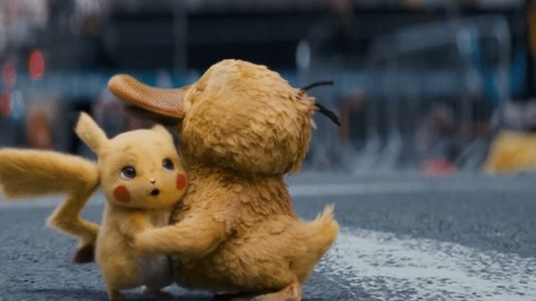 Detective Pikachu's latest look puts the spotlight on another favourite pokemon