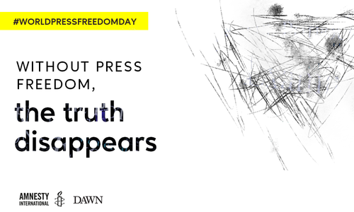 Without press freedom, the truth disappears