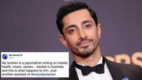 Riz Ahmed shares his brother's account of 'everyday racism' and it sounds way too familiar