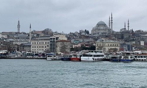 The old 'modern' neighbourhoods of Istanbul
