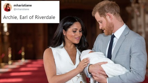 The royal baby gets a name and Twitter thinks it's based on someone they know
