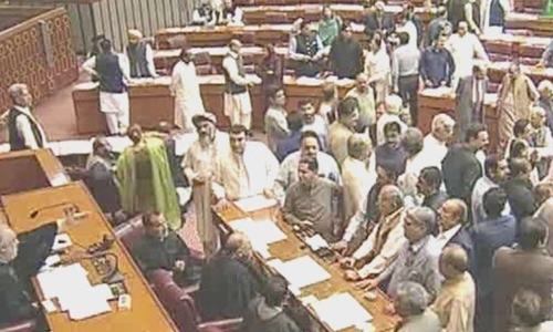 Treasury members disrupt NA session