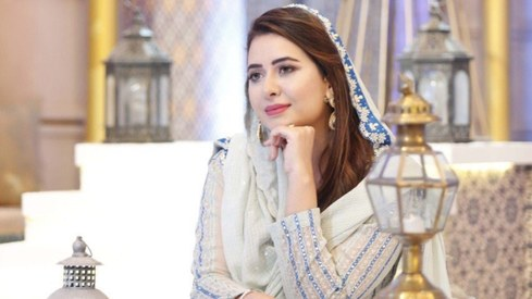 Rabia Anum Obaid is hosting her Ramazan transmission solo