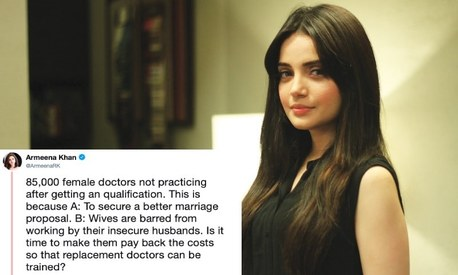 Armeena Khan's views about Pakistan's doctor brides rubbed people the wrong way