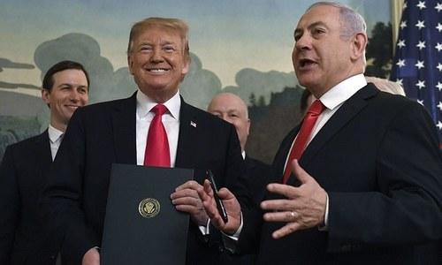 Israel says site chosen for Golan 'Trump' settlement