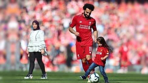 Footballer Mo Salah's daughter makes him proud with a goal and wins our hearts