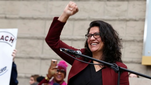 Rashida Tlaib becomes the first Muslim woman to preside over the House floor in US