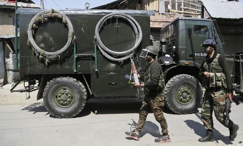 Indian forces kill 3 Kashmiri fighters, 1 civilian in IoK