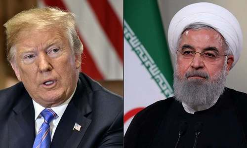 Iran says exercising restraint despite 'unacceptable' escalation of US sanctions