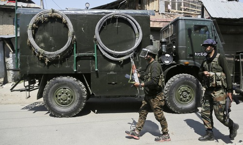 Eight killed during armed clashes in held Kashmir