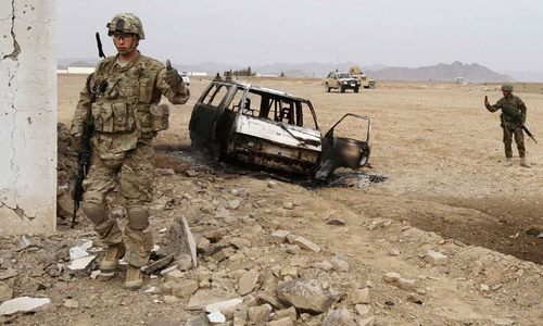 US strikes kill 17 policemen in south Afghanistan, say officials