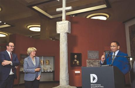 Germany to return 15th-century seafarer cross to Namibia